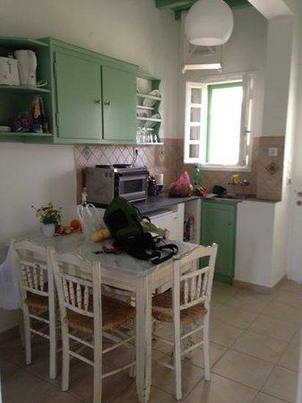 Golden Beach Hotel: kitchenette in unit 11