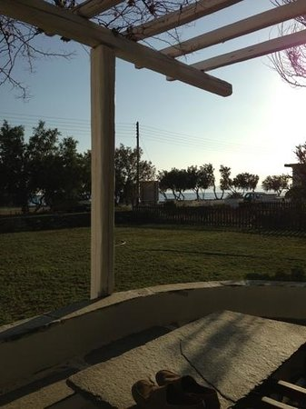 Golden Beach Hotel: View of the ocean from unit 11