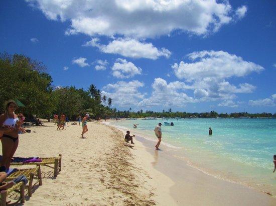 Villa Baya Aparta-Hotel: Bayahibe public beach