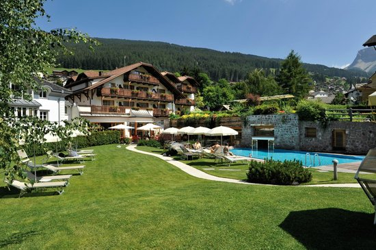 Hotel Angelo Engel: Garten - Hotel Engel
