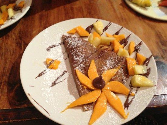 Cafe Hidalgo: Amazing crepes!