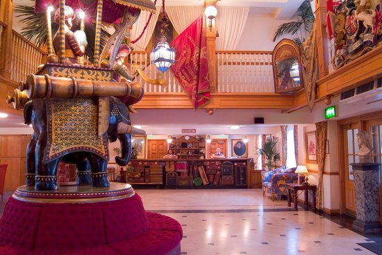 Alton Towers Hotel Reception