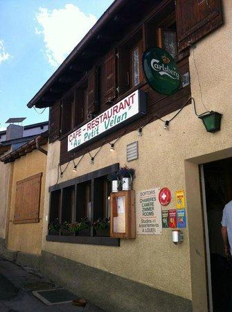 Auberge au Petit Velan: Entrée