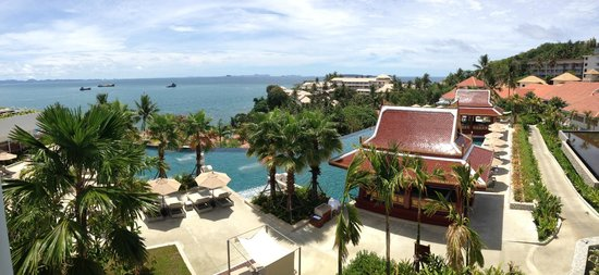 Amatara Resort & Wellness: View from Cape Suite - Pool and Ocean View