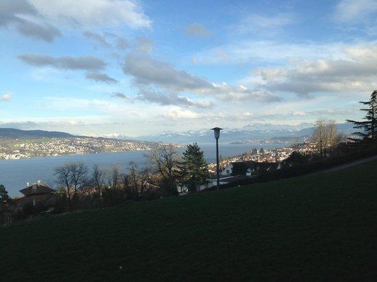Hotel Belvoir Swiss Quality: Blick aus dem Hotelzimmer