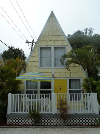 Anchor Inn & Cottages: A-frame cottage