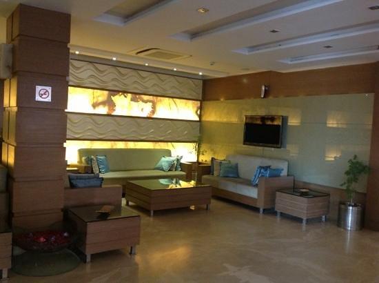 The Retreat: reception area