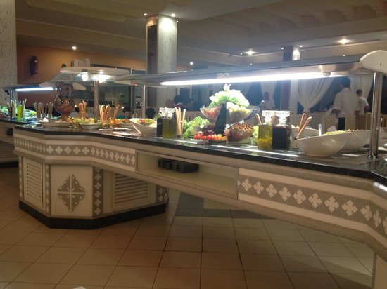 Dessole Abou Sofiane Resort : Salad section