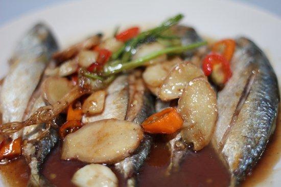 ร้านอาหาร ครัวริมเขื่อน: ปลาทุตาเตี๊ยะ