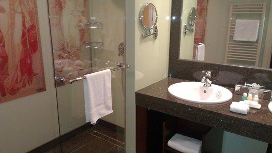 City Plaza Hotel: Shower