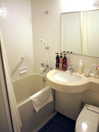 Hotel Sunroute Higashi Shinjuku: bath