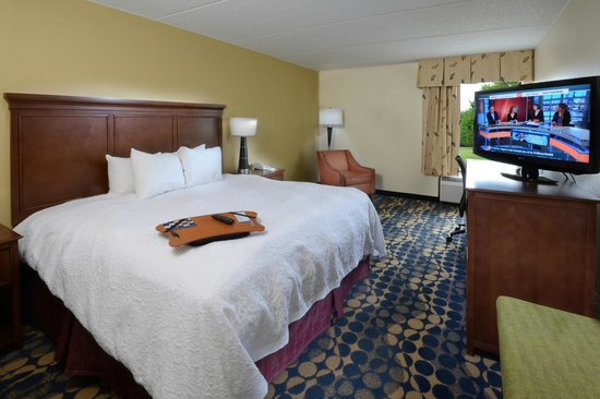 Hampton Inn Fayetteville - Cross Creek Mall: Guest Room