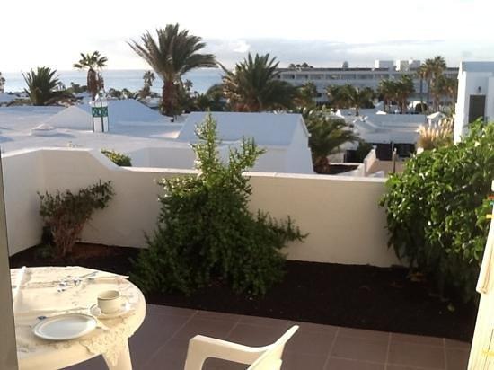 Costa Sal Villas and Suites: Bilde fra terassen.