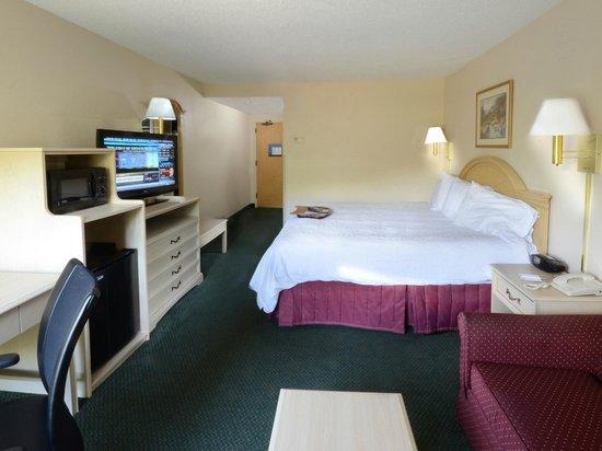 Hampton Inn Martinsville: Guest Room