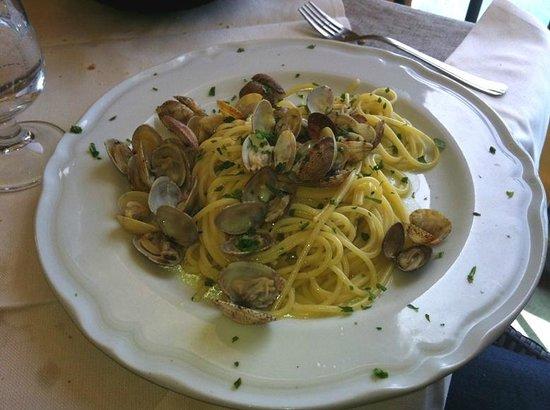 Le Bonta del Capo : Spaghetti alle vongole