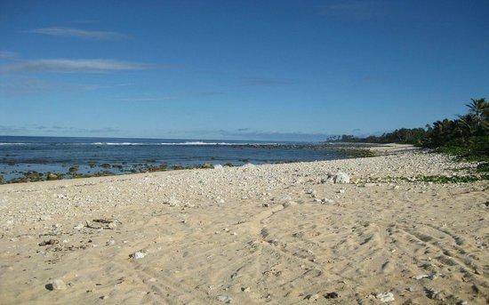 Muri Beach Club Hotel: Raro beach (not at the Muri - elsewhere)