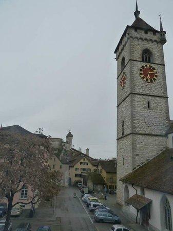 Hotel Kronenhof: View from window