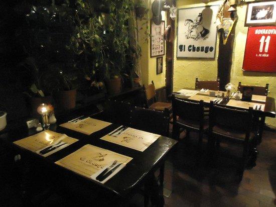 El Chango: sala