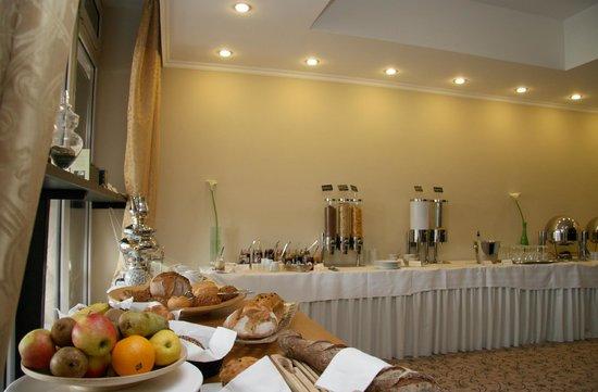 Villa am Meer: Frühstücksbuffet