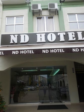 ND Hotel: outside