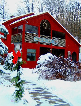 Shaker Mill Inn: Winter at the Inn