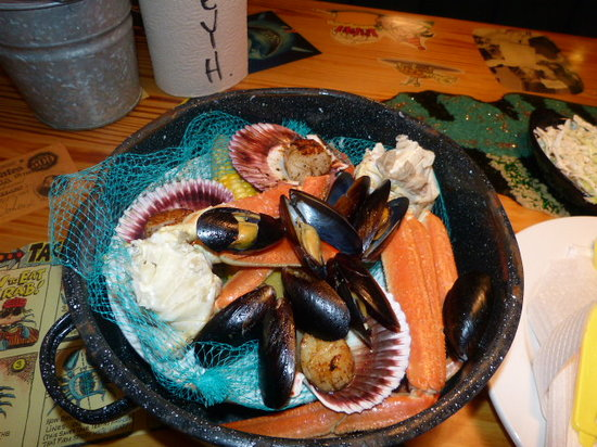 Joe's Crab Shack: Superb Food