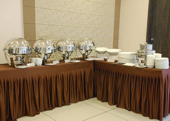 Krishna Sagar Residency: Buffet Set up - Buffet Set Up - Picture Of Krishna Sagar Residency, Baramati