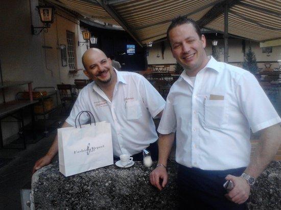 Ristorante Pizzeria Trastevere da Vincenzo: Spontanen Espresso zum Abschied