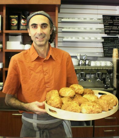 Bitton Bistro Cafe: The owner who is always there and happy to serve!
