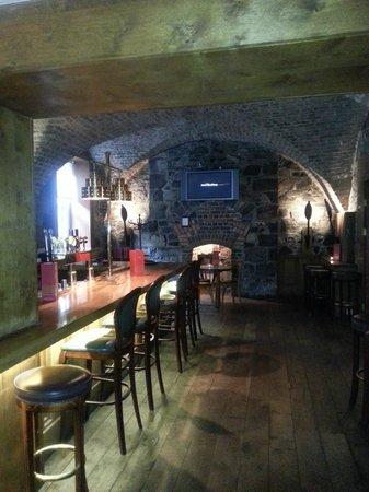 The Cellar Bar: the main bar