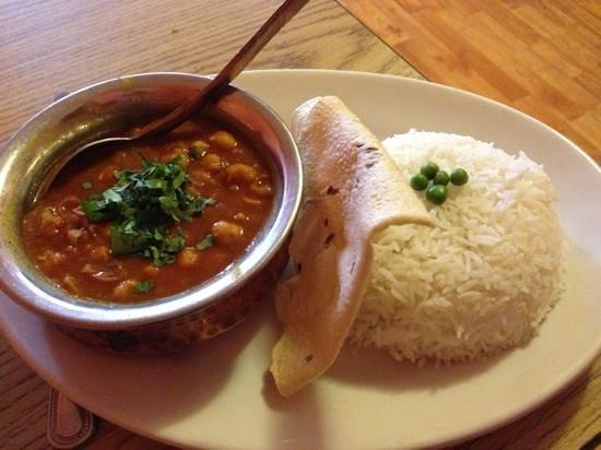 Sherpa Kitchen: the Chana Masala