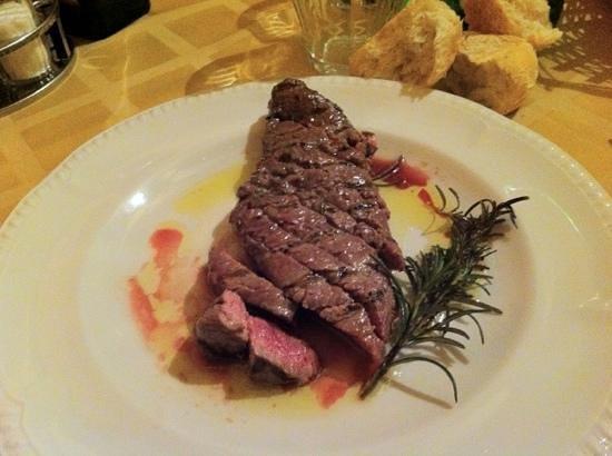 Osteria Al Gallo: tagliata al rosmarino