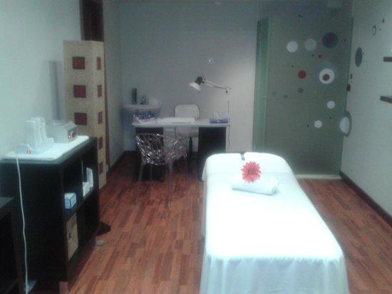 Thalasso Gloria San Agustín: Sala de masaje ayúrvedico
