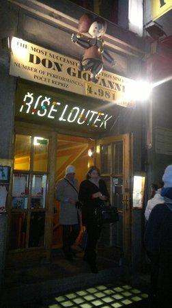 Marionette Theatre: Entrance