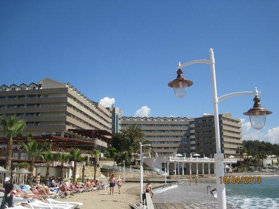 Jasmine Beach Resort: ana bina
