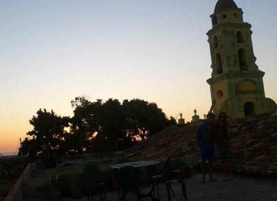 Colonial Margely: Il tramonto su Trinidad