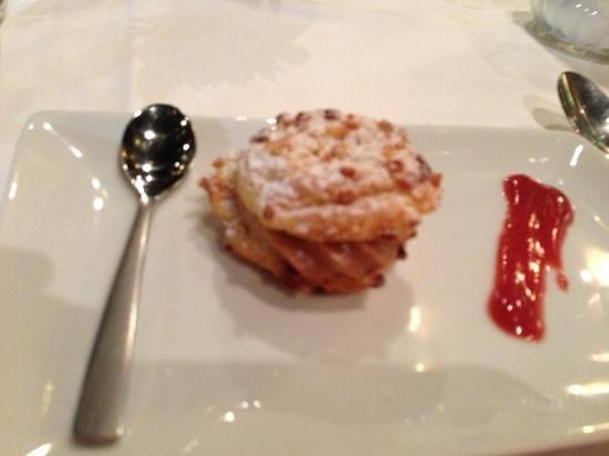 Hotel de France : pré dessert