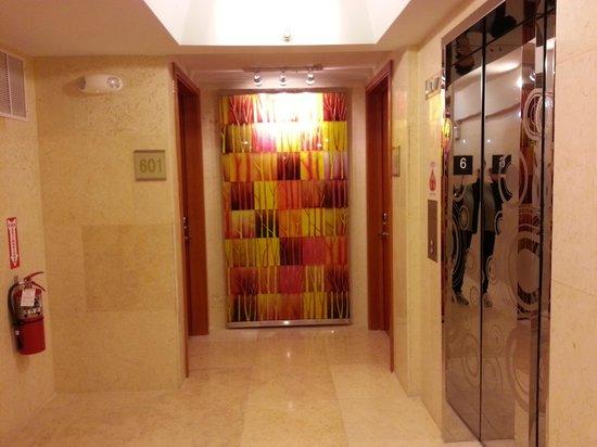 The Eldon Luxury Suites: Another hallway view near elevator