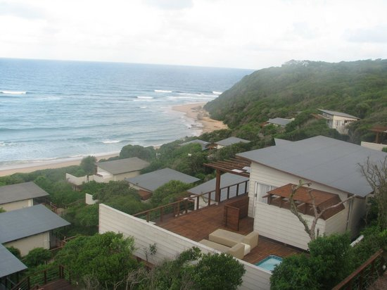 White Pearl Resorts, Ponta Mamoli: View from upper level room