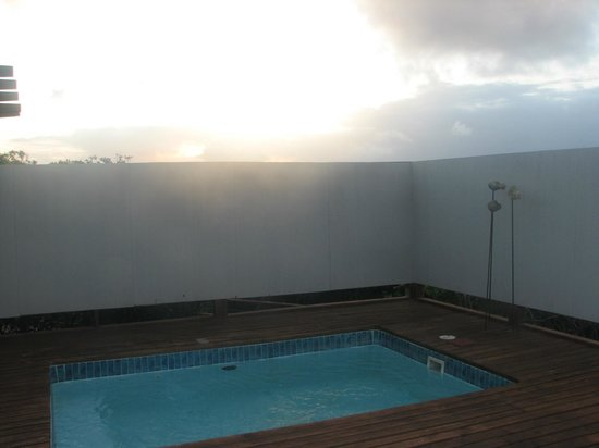 White Pearl Resorts, Ponta Mamoli: Each room has a pool this size