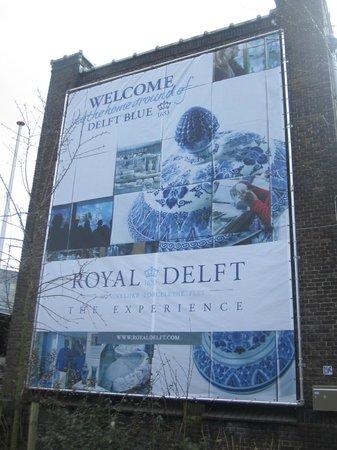 Royal Delft - Koninklijke Porceleyne Fles: Außenberereich