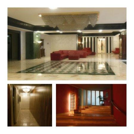 Salles Hotel Pere IV: Entrée et couloir