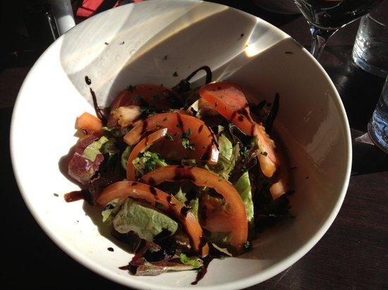 Les 4 Z'arts : salade verte