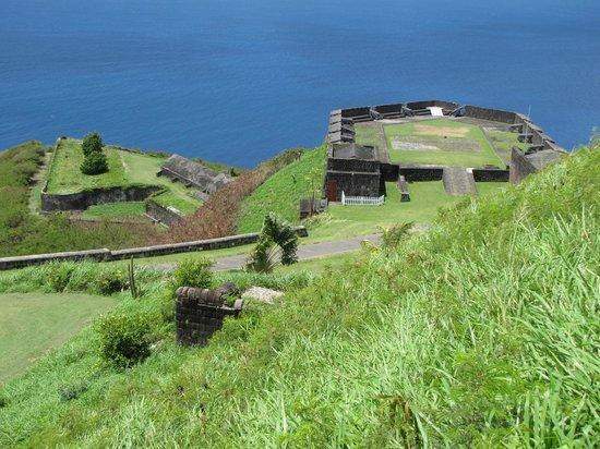 La forteresse de Brimstone Hill : Nice view