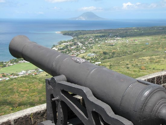 La forteresse de Brimstone Hill : What a view