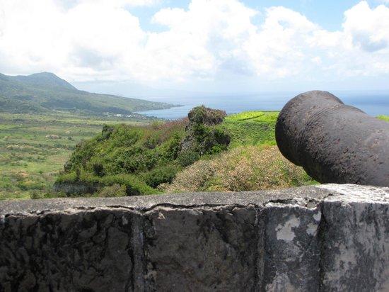 La forteresse de Brimstone Hill : Look at the view