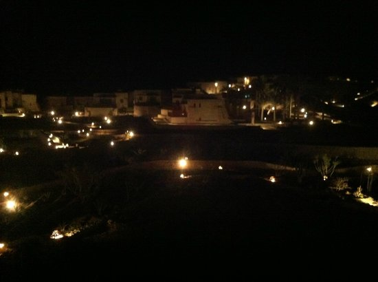 The Oasis: Night view