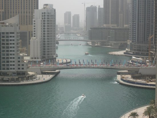 Dusit Residence Dubai Marina: view from our room