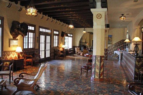 The Hotel Paisano: Hotel Lobby
