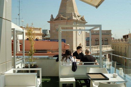 Restaurant Gaudir: Superausblick von der Dachterrasse